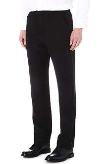 ARMANI Linen and silk trousers
