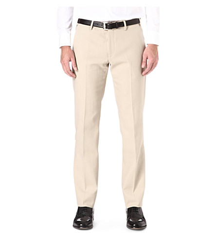 ARMANI Slim-fit trousers (Beige