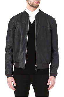ARMANI Patchwork leather jacket