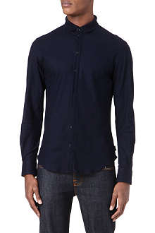 ARMANI Slim-fit collar shirt