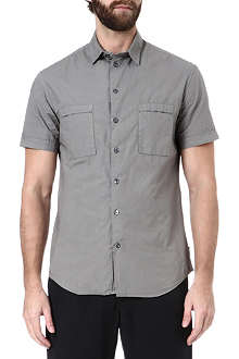 ARMANI Cotton short-sleeve shirt