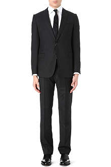 ARMANI Single-breasted pindot suit