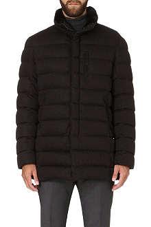 ARMANI COLLEZIONI Herringbone quilted jacket