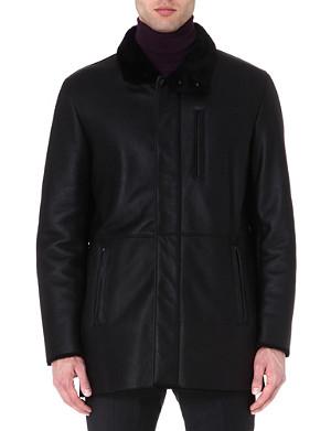 ARMANI COLLEZIONI Shearling coat