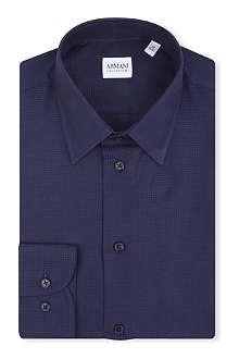 ARMANI COLLEZIONI Mod jacquard shirt