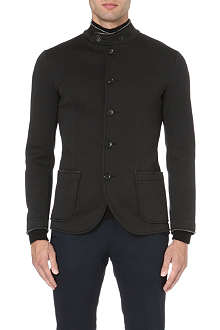 ARMANI COLLEZIONI Nehru patch pocket jacket