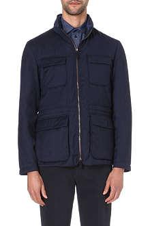 ARMANI COLLEZIONI Cashmere-blend jacket