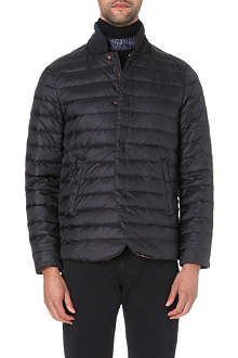 ARMANI COLLEZIONI Quilted stand-collar jacket