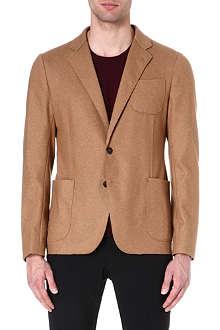 ARMANI COLLEZIONI Wool-blend jacket