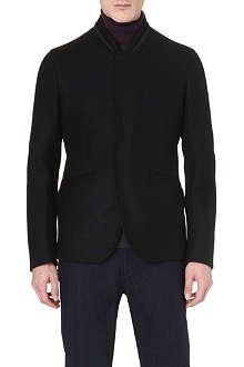 ARMANI COLLEZIONI Bomber-style tailored jacket