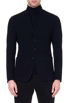 ARMANI COLLEZIONI Stand-collar jacket