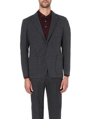 ARMANI COLLEZIONI Patch-pocket jacket