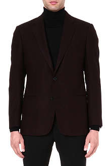 ARMANI COLLEZIONI Herringbone jacket