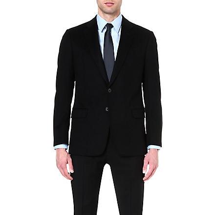 ARMANI COLLEZIONI Giorgio cashmere suit jacket (Black