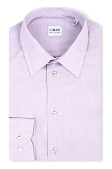 ARMANI COLLEZIONI Modern-fit single-cuff shirt