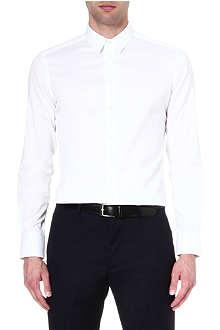 ARMANI COLLEZIONI Slim-fit single-cuff shirt
