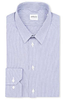 ARMANI COLLEZIONI Slim-fit single-cuff shirt