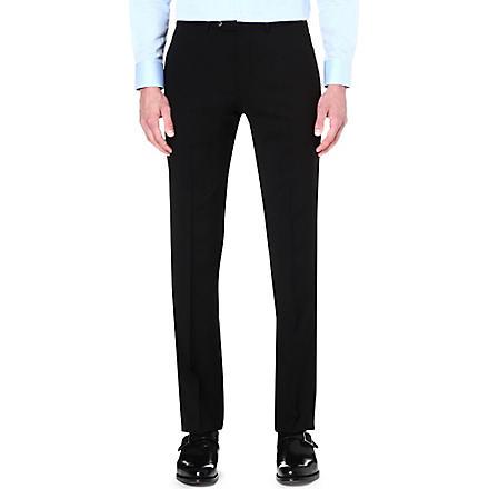ARMANI COLLEZIONI Wool trousers (Black