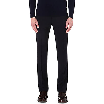 ARMANI COLLEZIONI Wool trousers (Navy