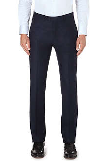 ARMANI COLLEZIONI Slim-fit straight wool trousers