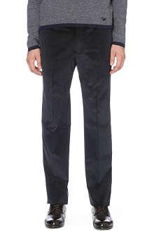 ARMANI COLLEZIONI Straight corduroy trousers