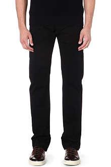 ARMANI COLLEZIONI J15 cotton-gabardine trousers