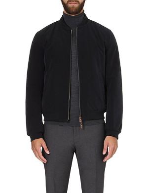 ARMANI COLLEZIONI Reversible bomber jacket