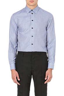 ARMANI COLLEZIONI Modern-fit geometric-print shirt