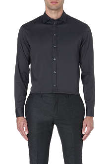 ARMANI COLLEZIONI Stretch-cotton modern-fit shirt