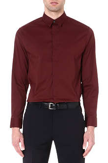 ARMANI COLLEZIONI Regular-fit single-cuff shirt