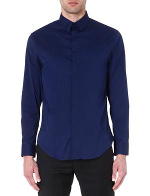 ARMANI COLLEZIONI Regular-fit single-cuff shirt