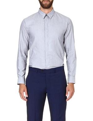 ARMANI COLLEZIONI Regular-fit cotton shirt