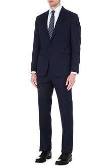 ARMANI COLLEZIONI Giorgio basketweave single-breasted suit