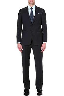 ARMANI COLLEZIONI Giorgio micro-check suit