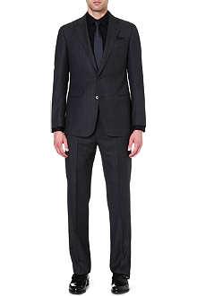 ARMANI COLLEZIONI Giorgio birdseye striped suit