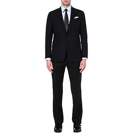 ARMANI COLLEZIONI Giorgio jacquard suit (Midnight