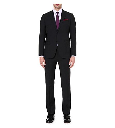 ARMANI COLLEZIONI Metropolitan wool suit (Charcoal