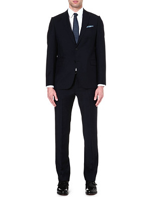 ARMANI COLLEZIONI Metropolitan wool and mohair-blend suit
