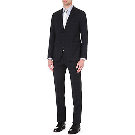 ARMANI COLLEZIONI Metropolitan Glen Check suit (Grey