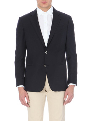 ARMANI COLLEZIONI Single-breasted wool jacket