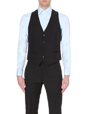 ARMANI COLLEZIONI Wool waistcoat