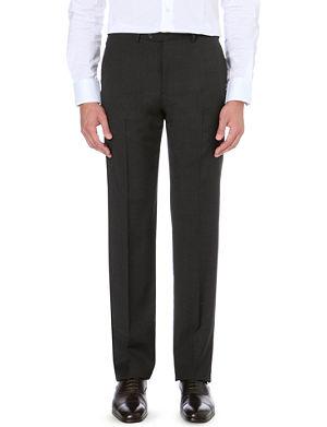 ARMANI COLLEZIONI Wool slim-fit trousers