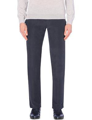 ARMANI COLLEZIONI Slim-fit woven trousers
