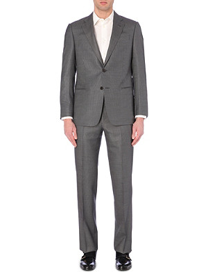 ARMANI COLLEZIONI Silk and wool-blend two-piece suit