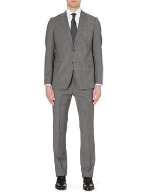 ARMANI COLLEZIONI Pinstripe wool-blend suit