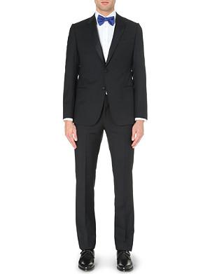 ARMANI COLLEZIONI Metropolitan wool and mohair tuxedo suit