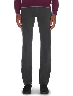 ARMANI COLLEZIONI Regular-fit straight jeans