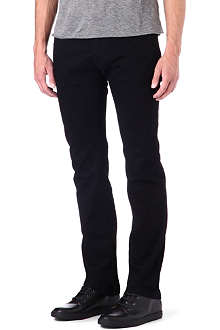 ARMANI Slim stretch-denim jeans