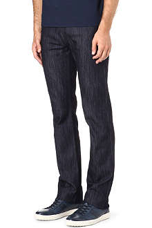ARMANI Slim-fit straight-leg jeans