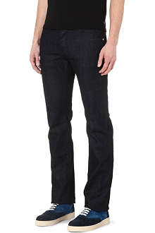 ARMANI J08 regular-fit straight jeans